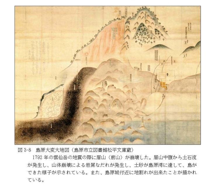 1792 Unzen earthquake and tsunami wwwhp1039jishingojpdansoNagasaki9figuresf3