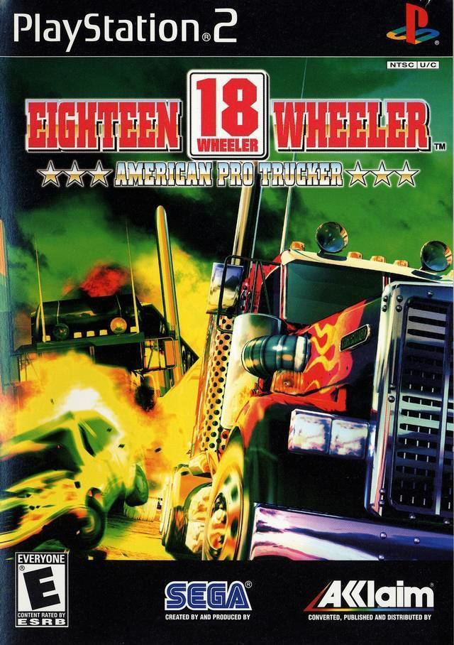 18 Wheeler: American Pro Trucker 18 Wheeler American Pro Trucker USA ISO lt PS2 ISOs Emuparadise