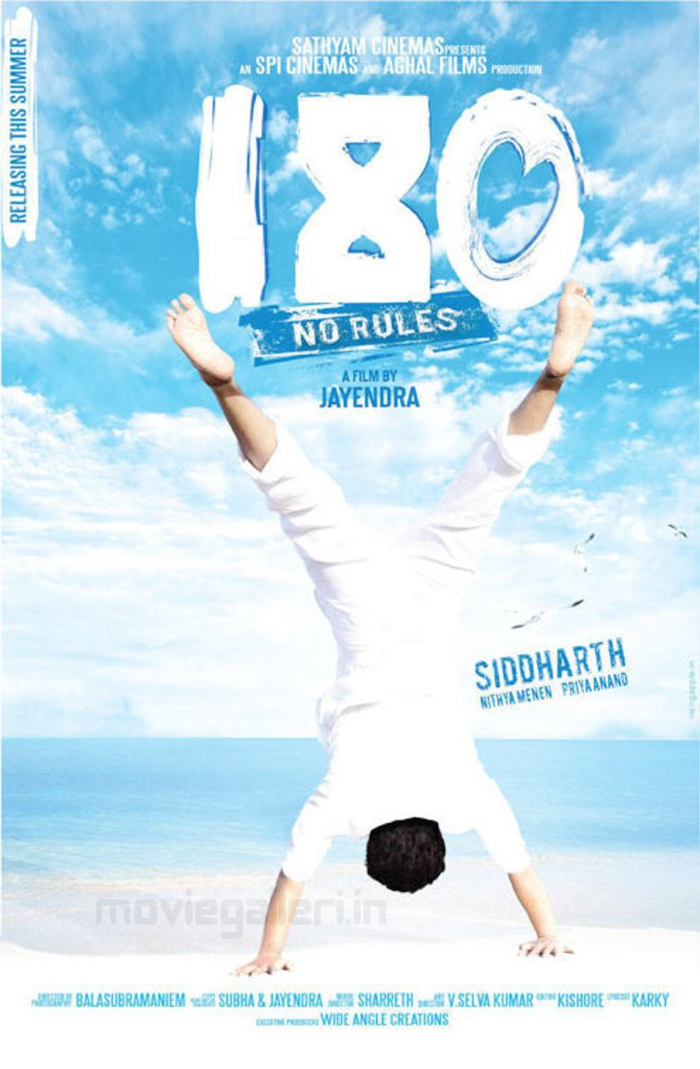 180 (2011 Indian film) movie poster