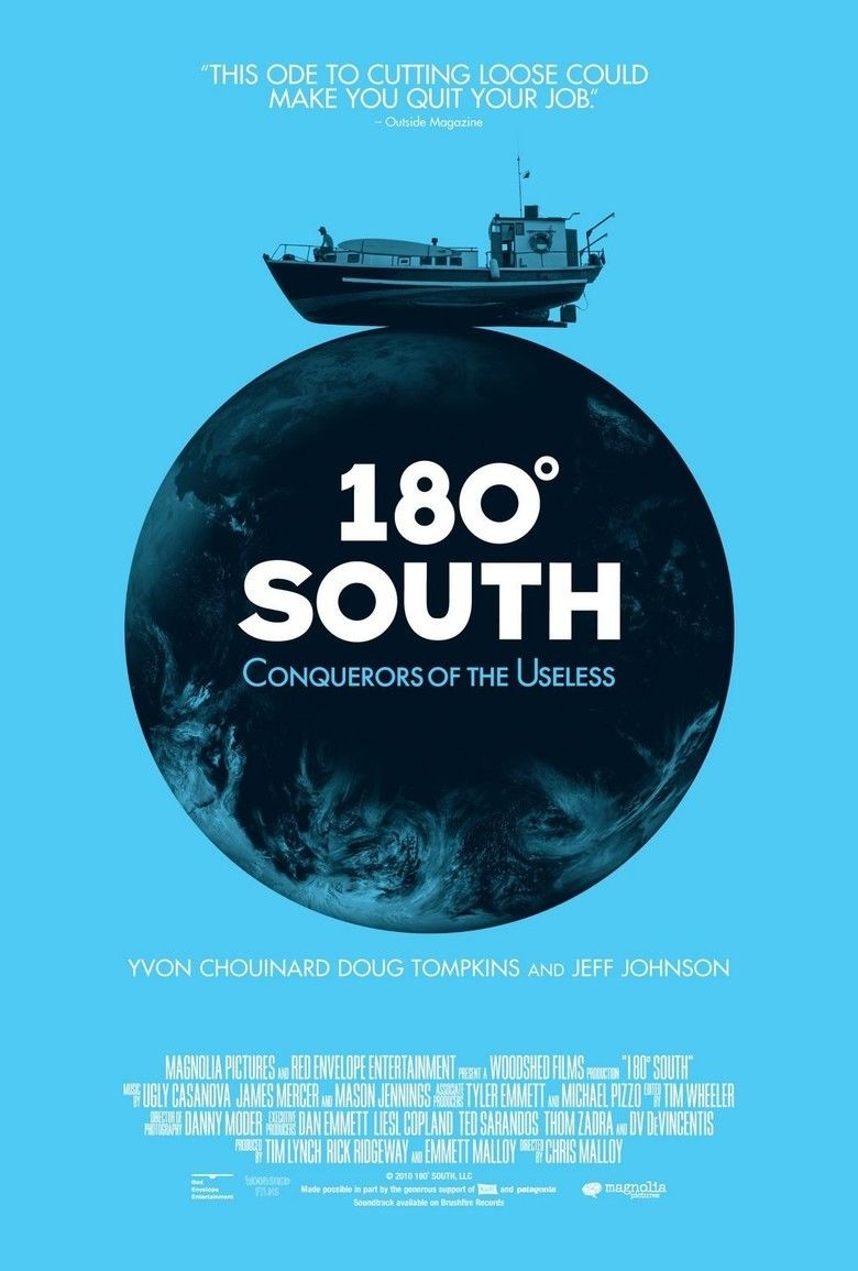 180 Degrees South: Conquerors of the Useless movie poster