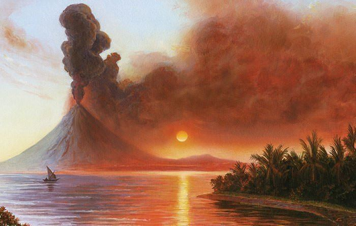 1815 eruption of Mount Tambora 10 Facts About The 1815 Eruption of Mount Tambora Learnodo Newtonic