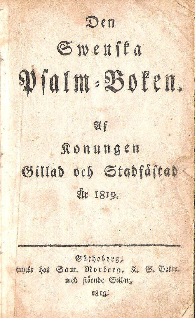 1819 in Sweden