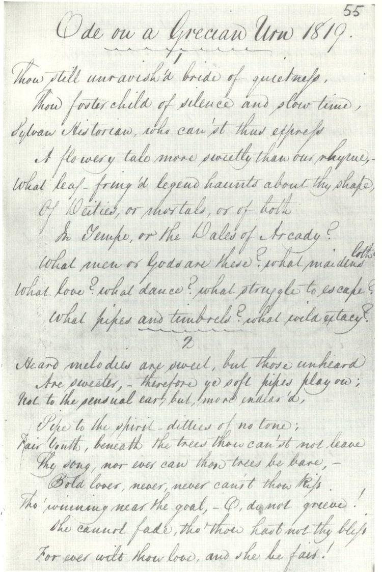 1820 in poetry