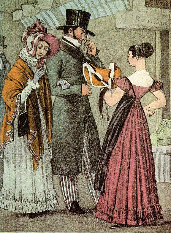 1820s in Western fashion