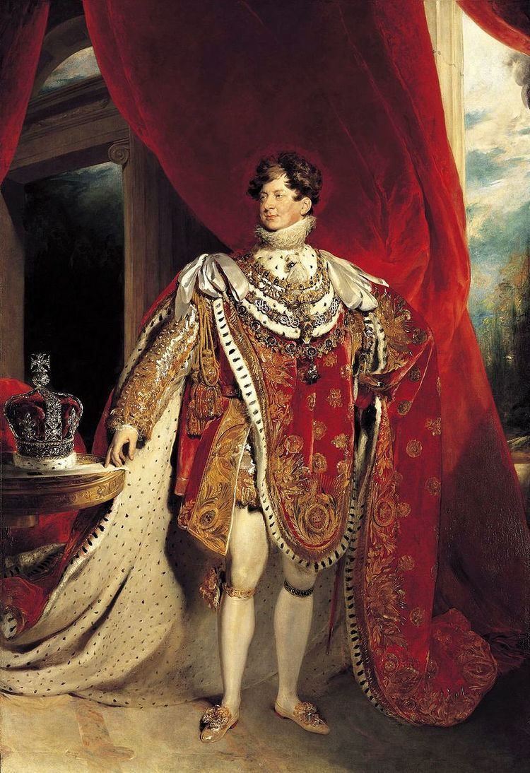 1821 Coronation Honours