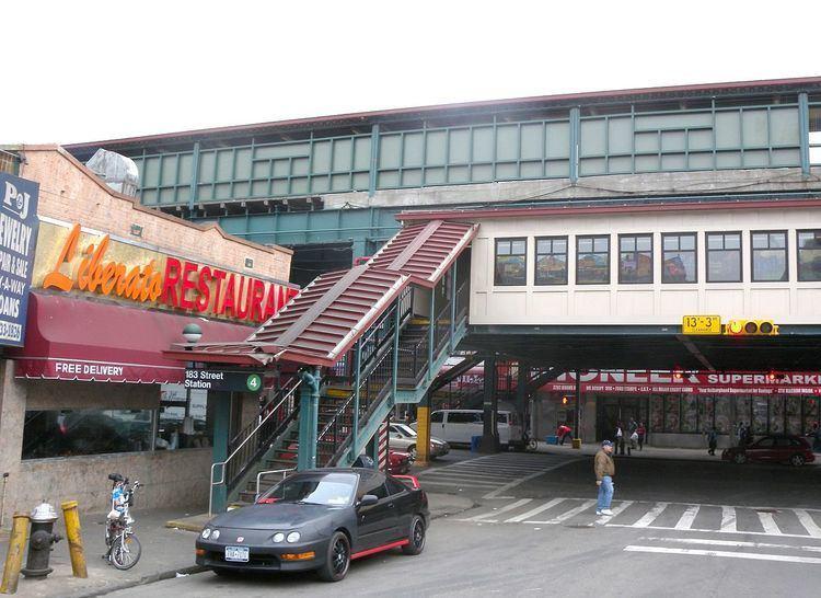 183rd Street (IRT Jerome Avenue Line)