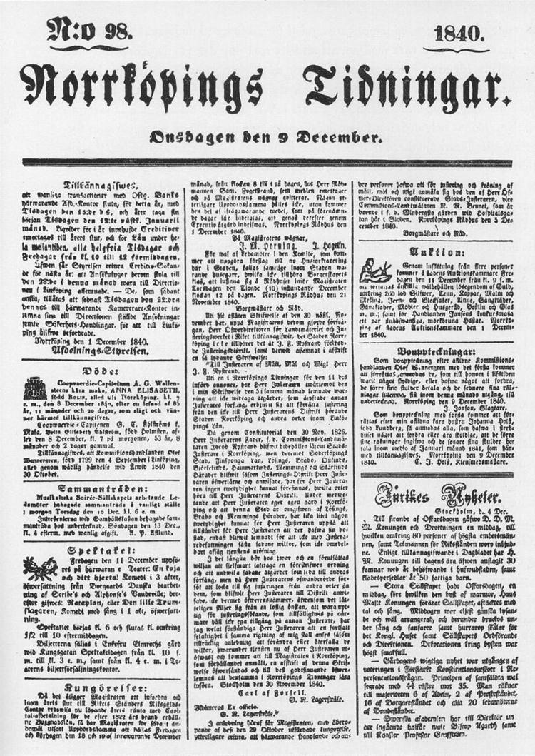 1840 in Sweden