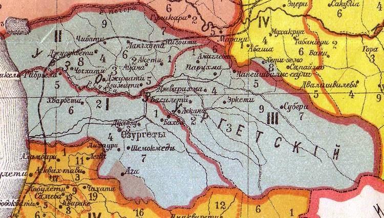 1841 rebellion in Guria