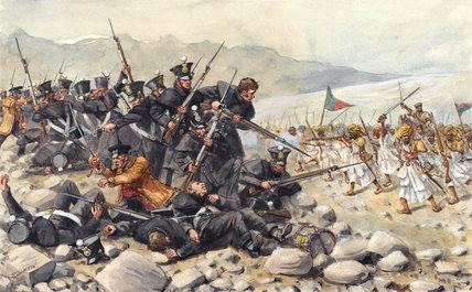 1842 retreat from Kabul Review quotLast Stand at Gandamakquot figures from Model Cellar