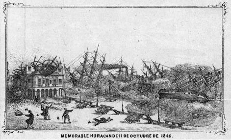 1846 Havana hurricane