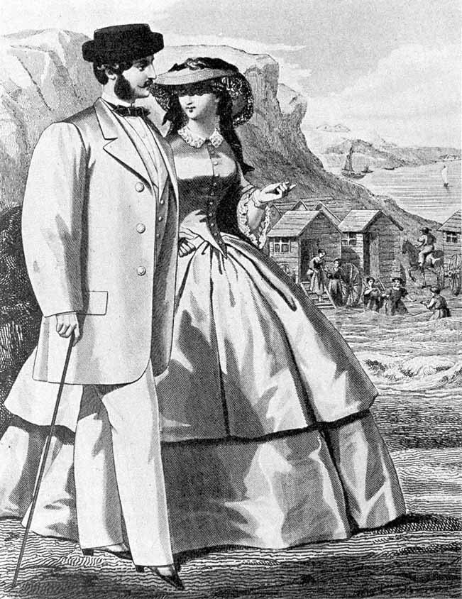 1850s in Western fashion