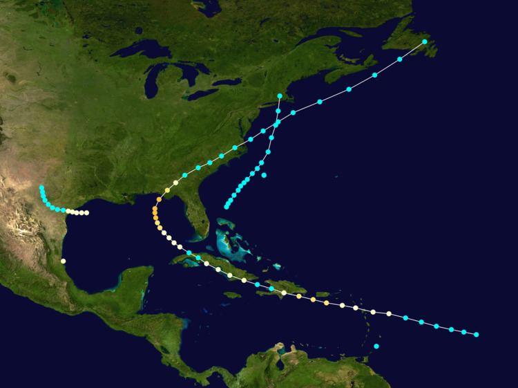 1851 Atlantic hurricane season