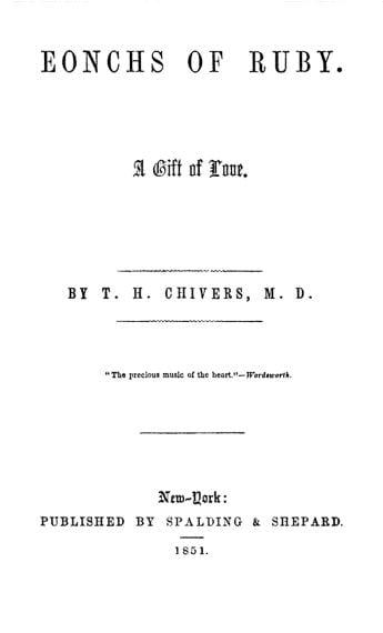 1851 in poetry
