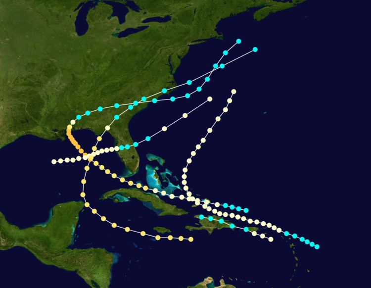 1852 Atlantic hurricane season