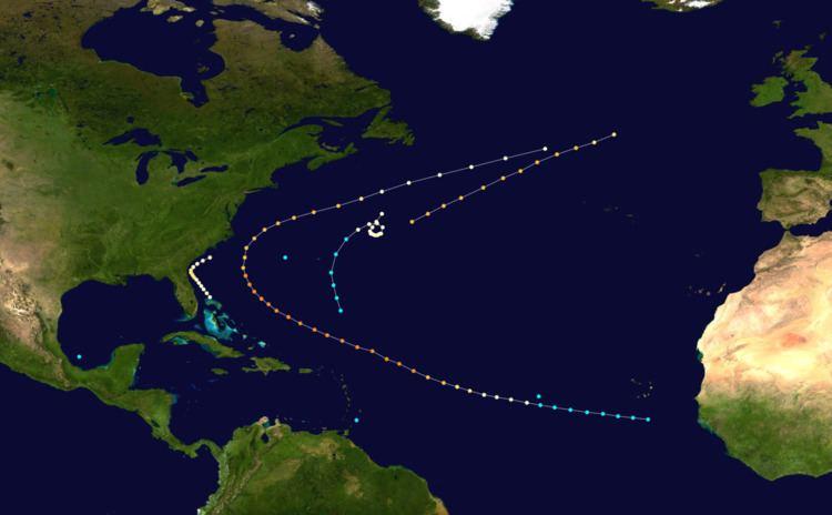 1853 Atlantic hurricane season