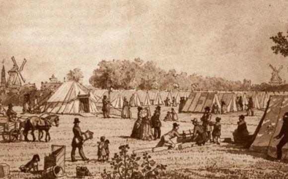 1853 Copenhagen cholera outbreak