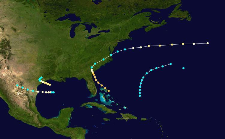 1854 Atlantic hurricane season