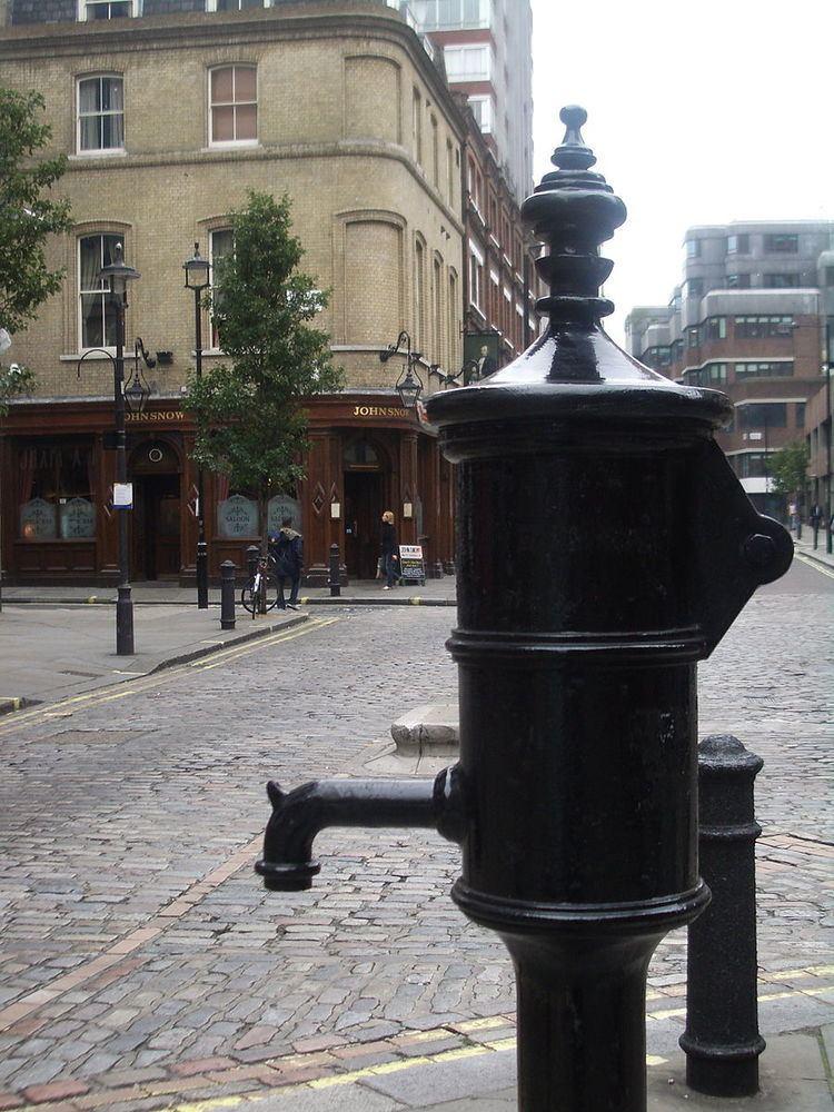 1854 Broad Street cholera outbreak
