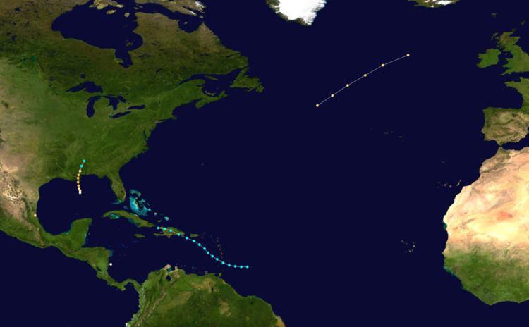 1855 Atlantic hurricane season