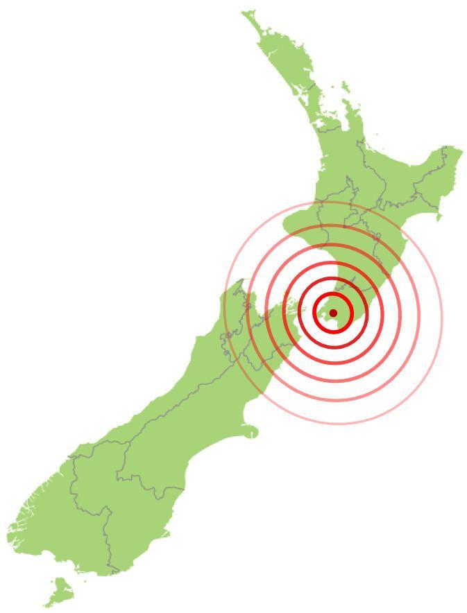 1855 Wairarapa earthquake File1855 Wairarapa EQ Location1png Wikimedia Commons