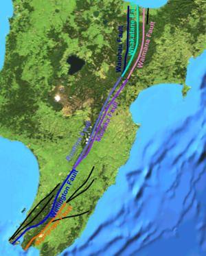 1855 Wairarapa earthquake 1855 Wairarapa earthquake Wikipedia