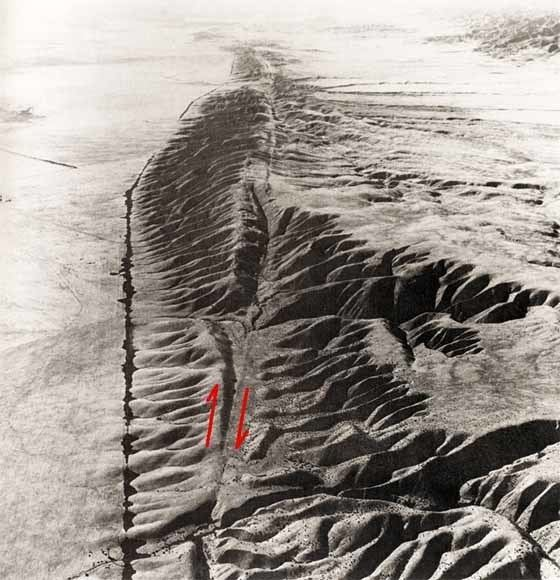1857 Fort Tejon earthquake The San Andreas Fault and the Tejon Earthquake of