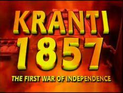 1857 Kranti (TV series) uploadwikimediaorgwikipediaenthumbcccSanja