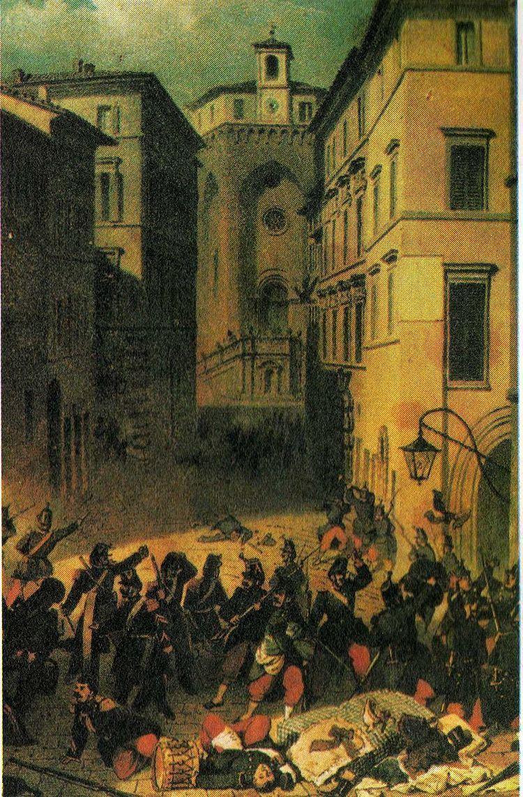 1859 Perugia uprising