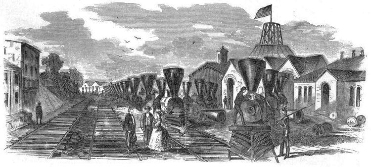 1861 in rail transport