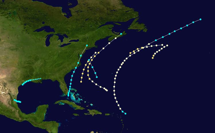 1863 Atlantic hurricane season