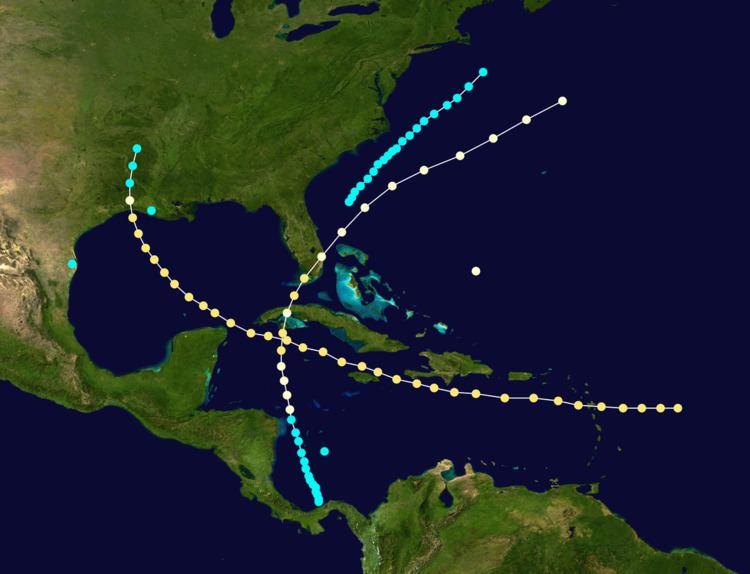 1865 Atlantic hurricane season