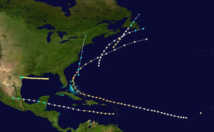 1866 Atlantic hurricane season