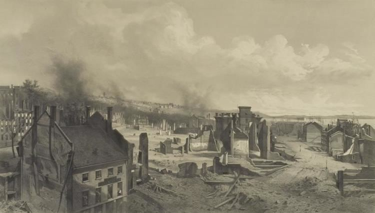 1866 Great fire of Portland, Maine