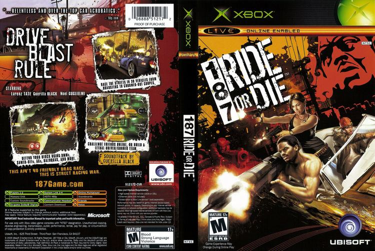 187 Ride or Die 187 Ride Or Die Cover Download Microsoft Xbox Covers The Iso Zone