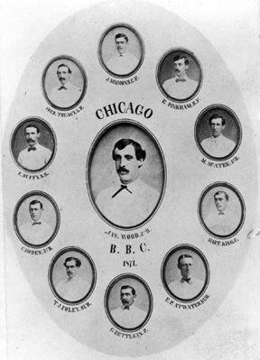 1871 Chicago White Stockings season