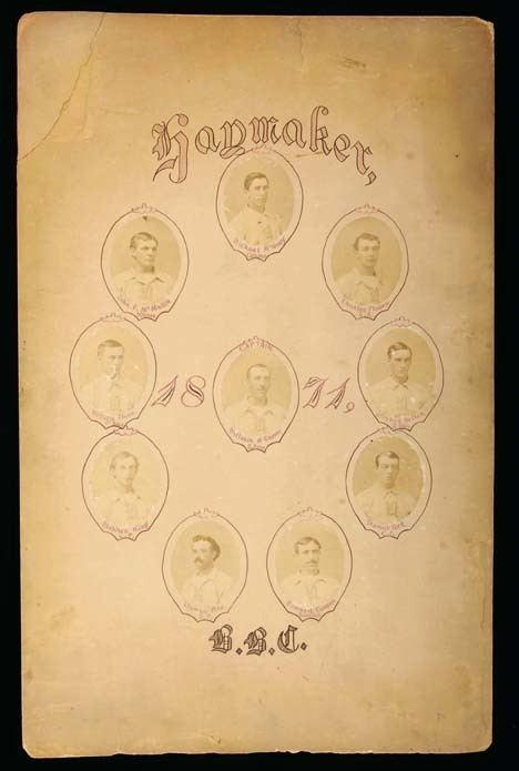 1871 Troy Haymakers season