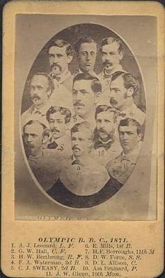 1871 Washington Olympics season