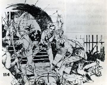 A sketch of Cavite Mutiny 1872 from the Archive of the Filipinas Heritage Library.