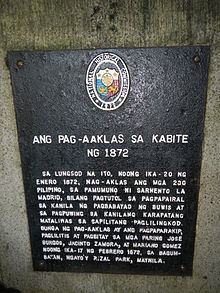 A short summary of what happened during Cavite Mutiny 1872.