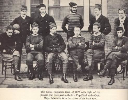 1872 FA Cup Final 1872 FA Cup Final Match Wanderers vs Royal Engineers FA Cup Finals