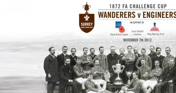 1872 FA Cup Final Wanderers prepare for rematch Kia Oval