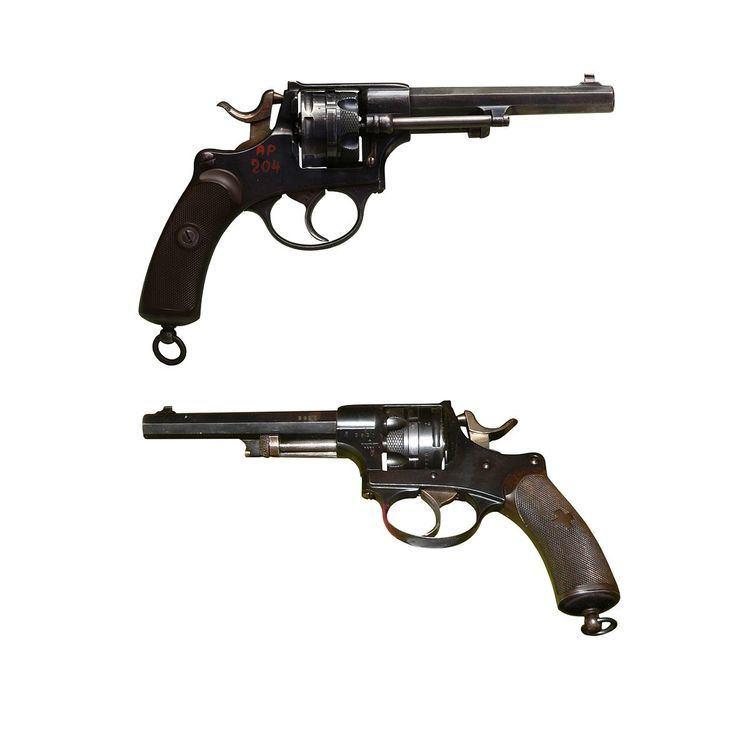 1872 Swiss revolver