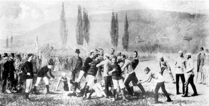 1873 college football season