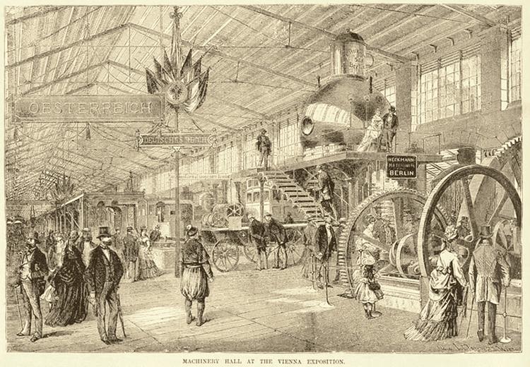 1873 Vienna World's Fair Chelsea Wald A Magnificent failure The 1873 World Exhibition in