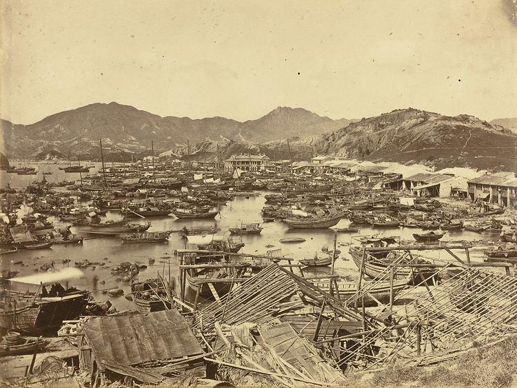 1874 Hong Kong typhoon