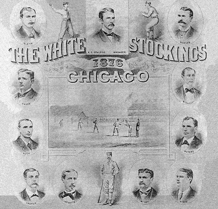 1876 Chicago White Stockings season