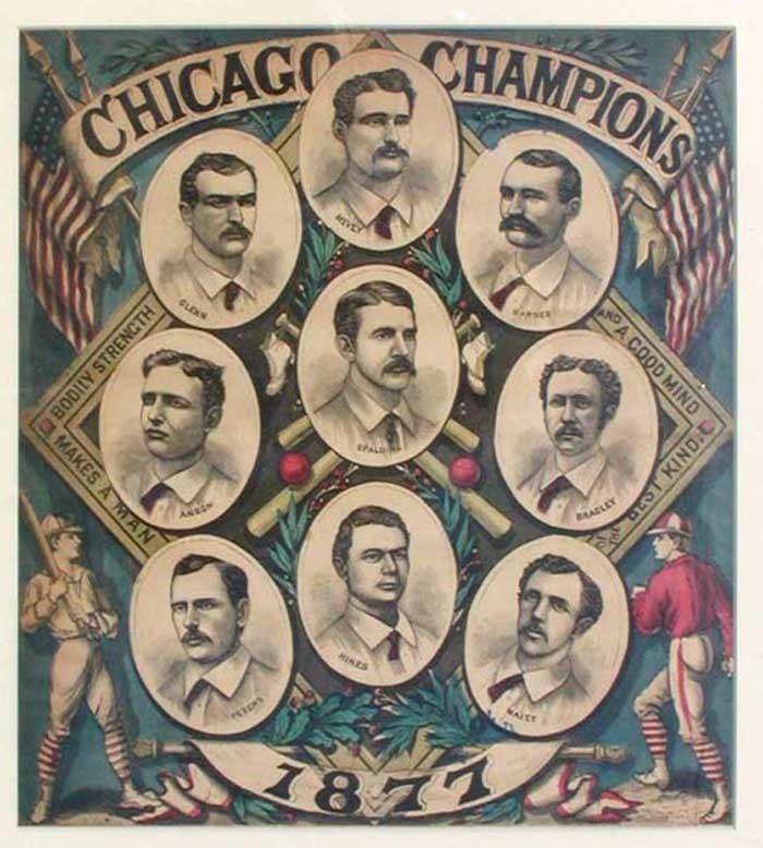 1877 Chicago White Stockings season