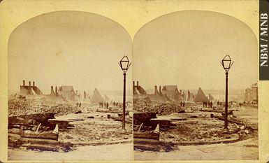 1877 Great Fire of Saint John, New Brunswick The Great Fire