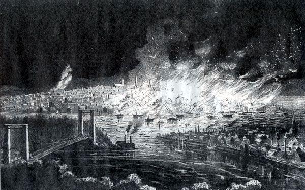 1877 Great Fire of Saint John, New Brunswick Saint John Great Fire of 1877
