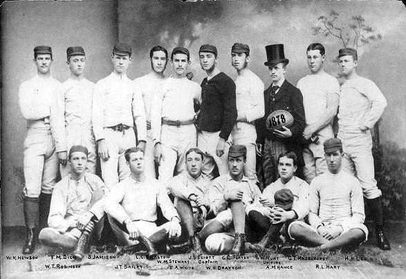 1878 Penn Quakers football team